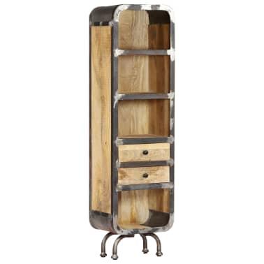 vidaXL Dulap înalt, 40x30x145 cm, lemn masiv de mango[13/13]