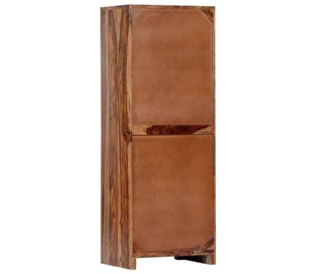 vidaXL Armoire latérale 40 x 30 x 110 cm Bois de Sesham solide[4/13]