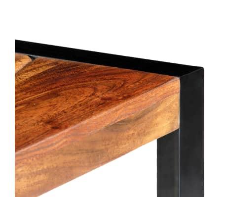 "vidaXL TV Cabinet 55.1""x11.8""x17.7"" Solid Acacia Wood[5/12]"
