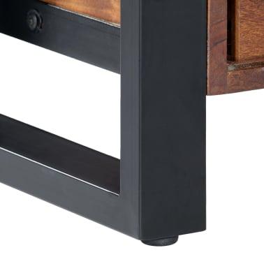 "vidaXL TV Cabinet 55.1""x11.8""x17.7"" Solid Acacia Wood[7/12]"