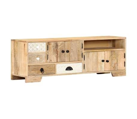 "vidaXL TV Cabinet 47.2""x11.8""x15.7"" Solid Mango Wood[13/14]"
