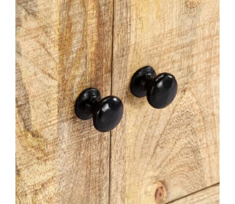 "vidaXL TV Cabinet 47.2""x11.8""x15.7"" Solid Mango Wood[6/14]"