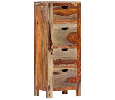 "vidaXL Drawer Cabinet 15.7""x11.8""x39.3"" Solid Sheesham Wood[1/13]"