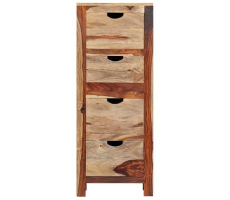 "vidaXL Drawer Cabinet 15.7""x11.8""x39.3"" Solid Sheesham Wood[2/13]"