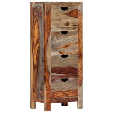 "vidaXL Drawer Cabinet 15.7""x11.8""x39.3"" Solid Sheesham Wood[11/13]"