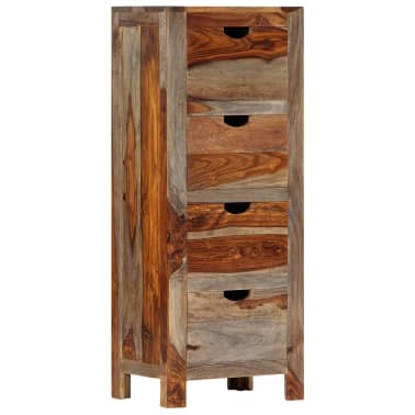 "vidaXL Drawer Cabinet 15.7""x11.8""x39.3"" Solid Sheesham Wood[12/13]"