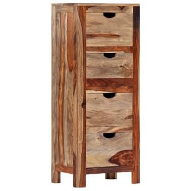 "vidaXL Drawer Cabinet 15.7""x11.8""x39.3"" Solid Sheesham Wood[13/13]"