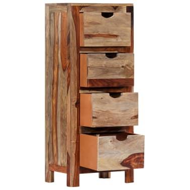 "vidaXL Drawer Cabinet 15.7""x11.8""x39.3"" Solid Sheesham Wood[3/13]"