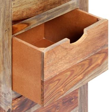 "vidaXL Drawer Cabinet 15.7""x11.8""x39.3"" Solid Sheesham Wood[5/13]"