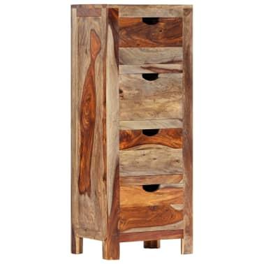 "vidaXL Drawer Cabinet 15.7""x11.8""x39.3"" Solid Sheesham Wood[10/13]"