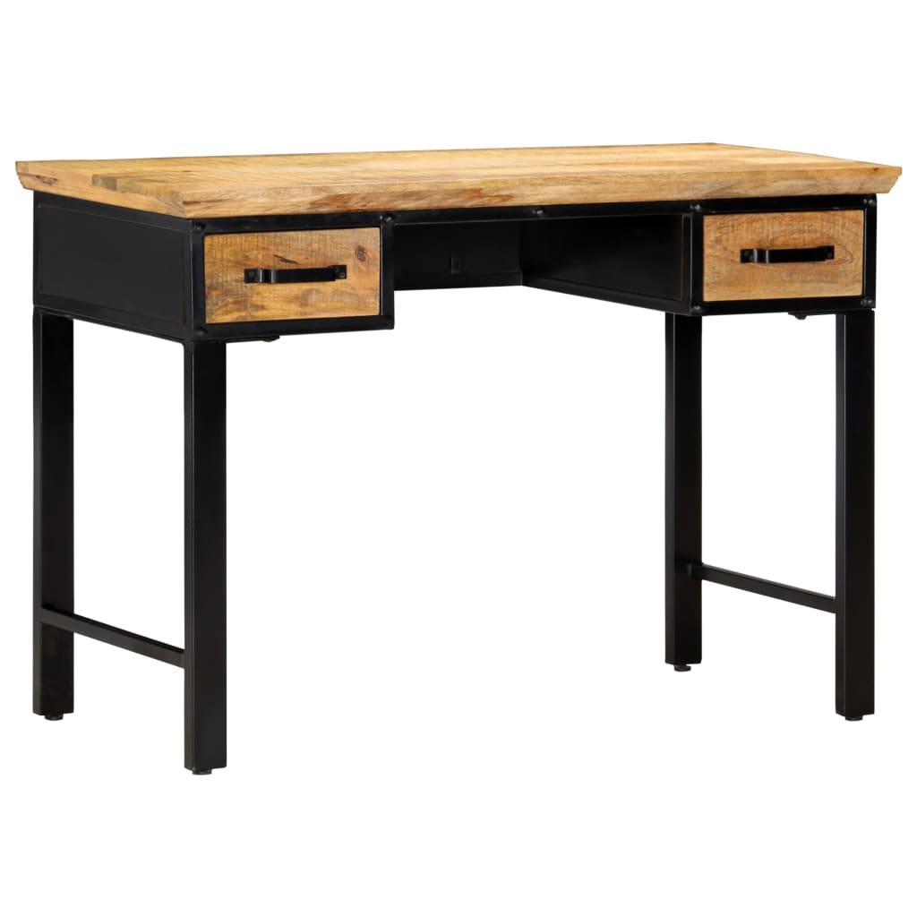 vidaXL Masă de scris, 110 x 50 x 76 cm, lemn masiv de mango vidaxl.ro