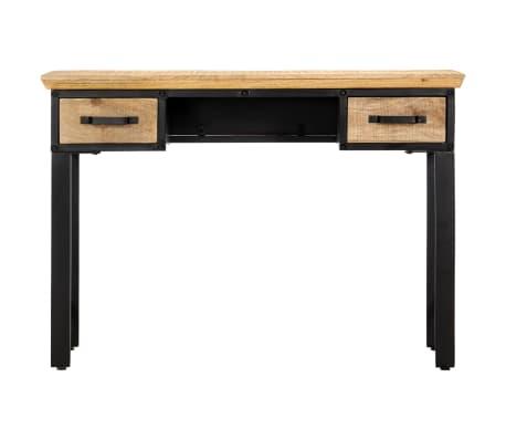 vidaXL Table d'écriture 110 x 50 x 76 cm Bois de manguier massif[2/11]