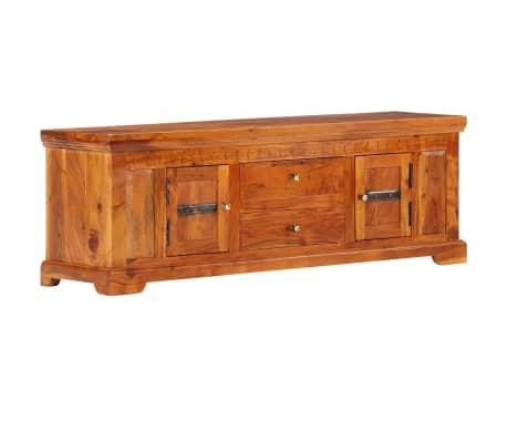 vidaXL Tv-meubel 119x30x40 cm massief acaciahout
