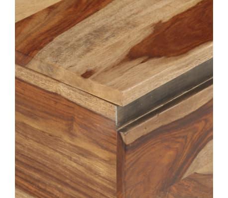 vidaXL Coffre de rangement 30 x 30 x 57 cm Bois massif de Sesham[7/13]