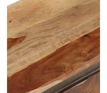 vidaXL Coffre de rangement 30 x 30 x 57 cm Bois massif de Sesham[8/13]