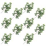 vidaXL kunstige figenblade 10 stk. 65 cm grøn og hvid
