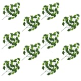 vidaXL Artificial Leaves Ginko 10 pcs Green 65 cm