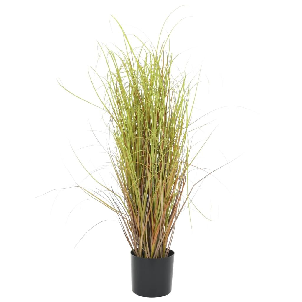 vidaXL Plantă iarbă artificială în ghiveci, 80 cm poza vidaxl.ro