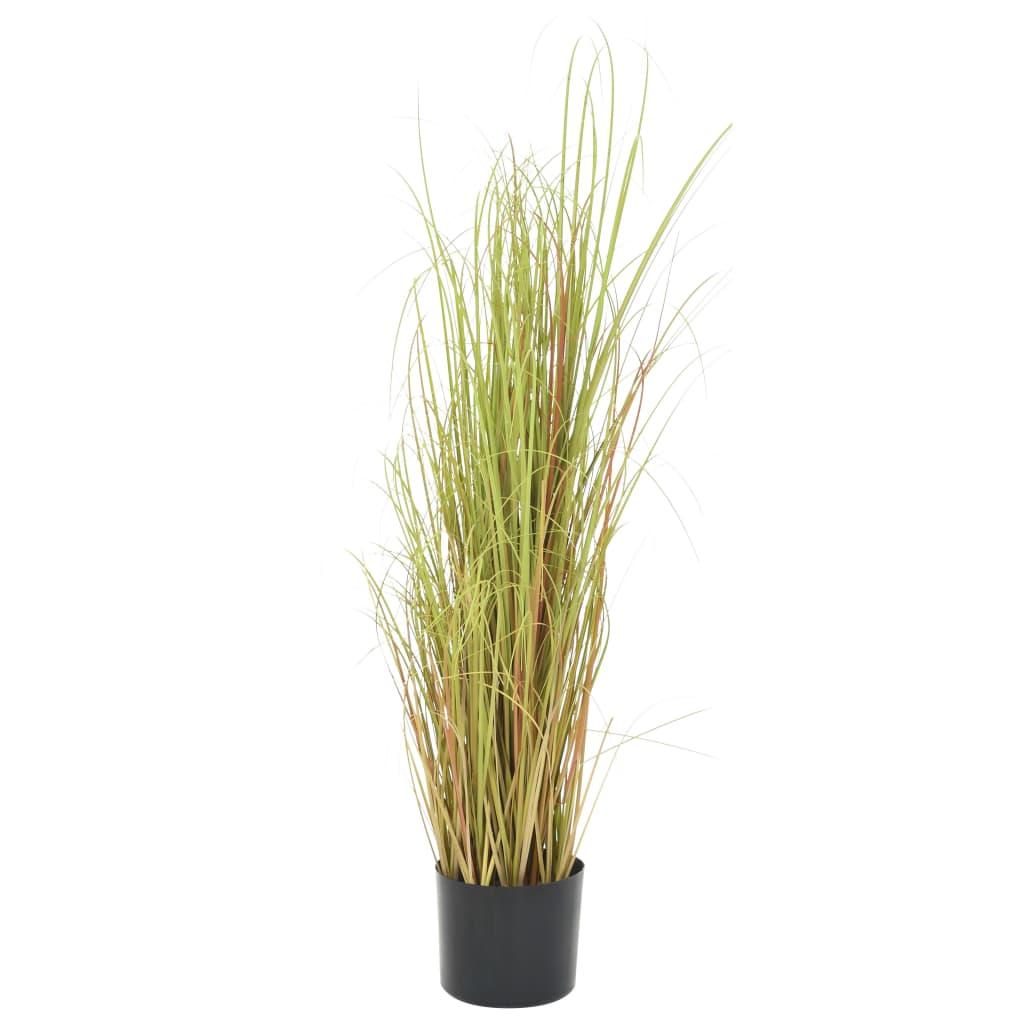 vidaXL Plantă iarbă artificială în ghiveci, 95 cm poza vidaxl.ro