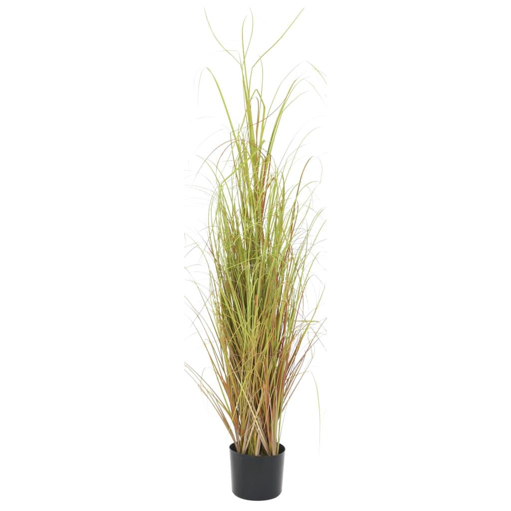 vidaXL Plantă iarbă artificială în ghiveci, 130 cm vidaxl.ro