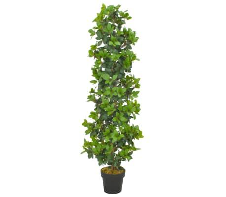 vidaXL zöld, cserepes műbabérfa 150 cm