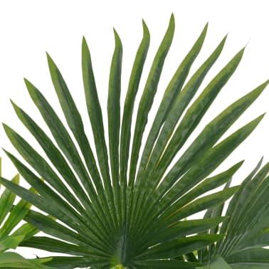 vidaXL Künstliche Pflanze Palme mit Topf Grün 70 cm[2/2]