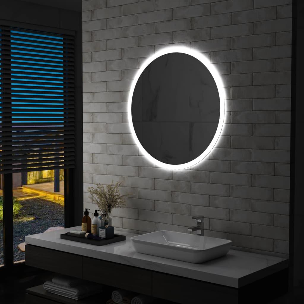 vidaXL Badkamerspiegel LED 80 cm
