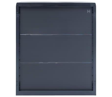 "vidaXL Garden Storage Cabinet XL 30.7""x18.1""x37"" Plastic[3/9]"