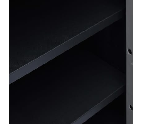 "vidaXL Garden Storage Cabinet XL 30.7""x18.1""x37"" Plastic[7/9]"