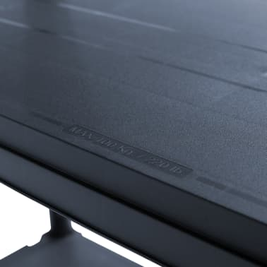 "vidaXL Storage Shelf Rack Black 1102.3 lb 39.4""x15.7""x70.9"" Plastic[6/8]"