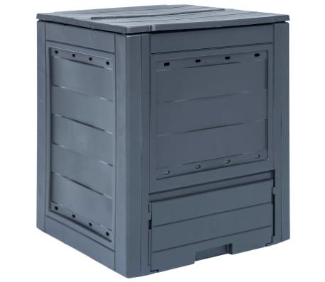 vidaXL aiakomposter, pruun, 60 x 60 x 73 cm, 260 l