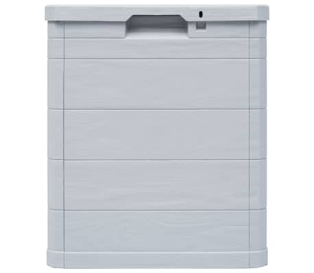 vidaXL Garden Storage Box 23.8 gal Light Gray[3/7]