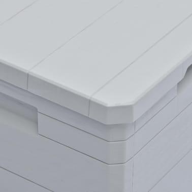 vidaXL Garden Storage Box 23.8 gal Light Gray[6/7]