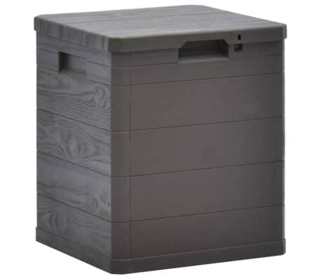 vidaXL Garden Storage Box 23.8 gal Brown