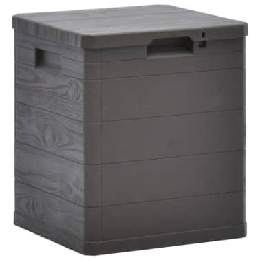vidaXL Garden Storage Box 23.8 gal Brown[1/7]