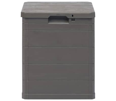 vidaXL Garden Storage Box 23.8 gal Brown[3/7]