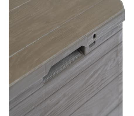 vidaXL Garden Storage Box 23.8 gal Brown[5/7]