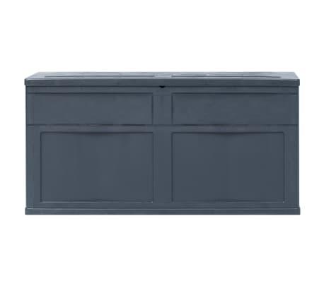 vidaXL Záhradný úložný box čierny 320 l[4/9]