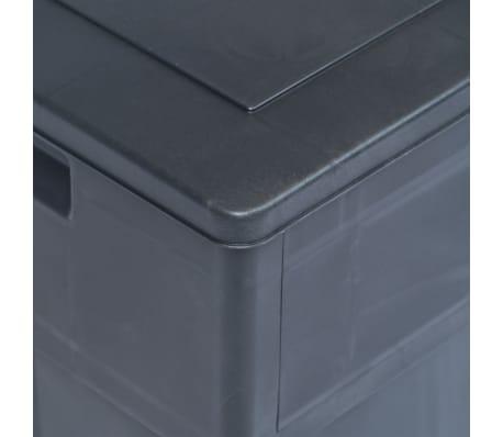 vidaXL Záhradný úložný box čierny 320 l[6/9]