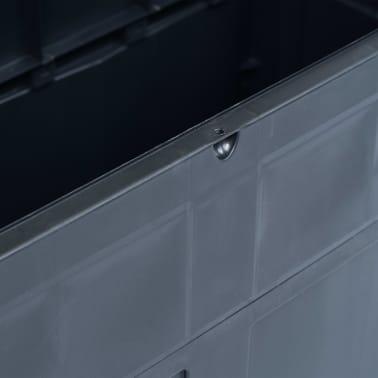 vidaXL Záhradný úložný box čierny 320 l[7/9]