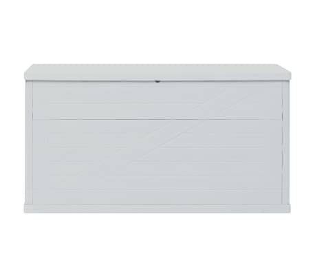vidaXL Vrtna škatla za shranjevanje 420 L svetlo siva[4/10]
