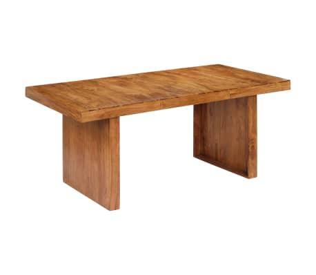 vidaXL Mesa de jantar 180x90x75 cm madeira de acácia maciça