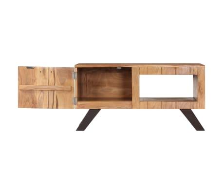vidaXL Kavos staliukas, 90x50x45 cm, akacijos medienos masyvas[3/13]