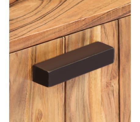 vidaXL Kavos staliukas, 90x50x45 cm, akacijos medienos masyvas[5/13]