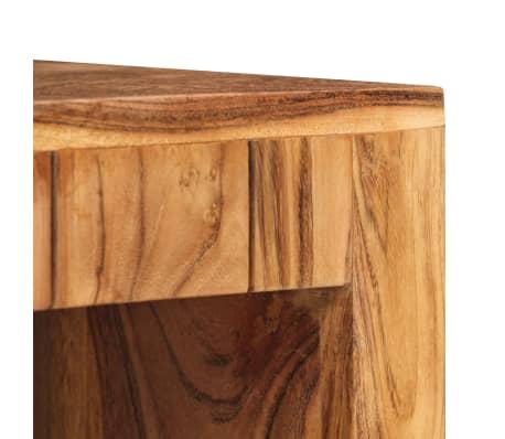 vidaXL Kavos staliukas, 90x50x45 cm, akacijos medienos masyvas[6/13]