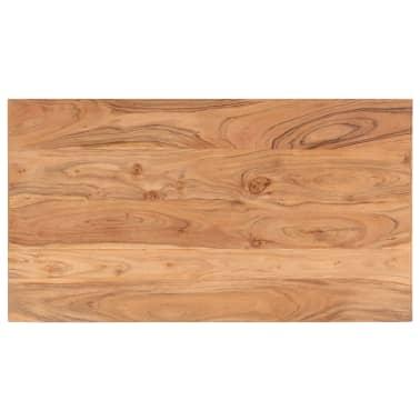 vidaXL Kavos staliukas, 90x50x45 cm, akacijos medienos masyvas[4/13]