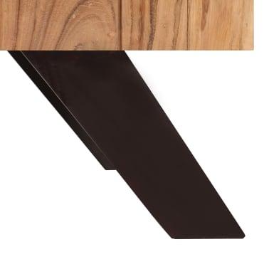 vidaXL Kavos staliukas, 90x50x45 cm, akacijos medienos masyvas[7/13]