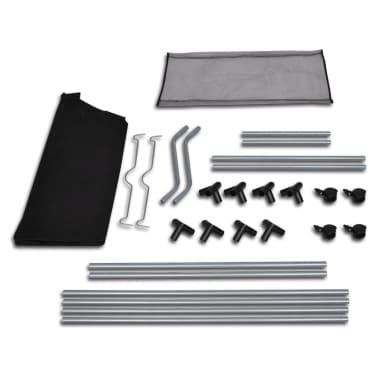 vidaXL Separador de colada con bolsas 2 unidades negro y gris[3/3]