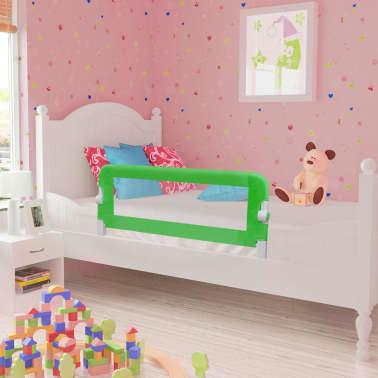 vidaXL Apsauginiai turėklai kūdikio lovai, 2vnt., žal. sp., 102x42cm[1/7]