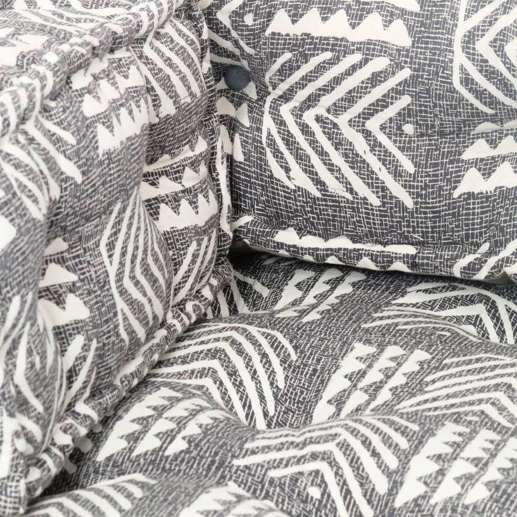 Istmepadi euroalustest diivanile, hall, kangast, lapitehnikas
